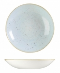 Piatto Fondo Coupe Egg Blue STONECAST CHURCHILL