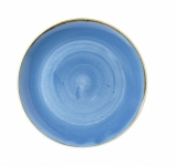 Piatto Fondo Coupe Cornflower Blue STONECAST CHURCHILL