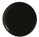Piatto Pizza 32 cm Evolutions Black Arcoroc - Nero